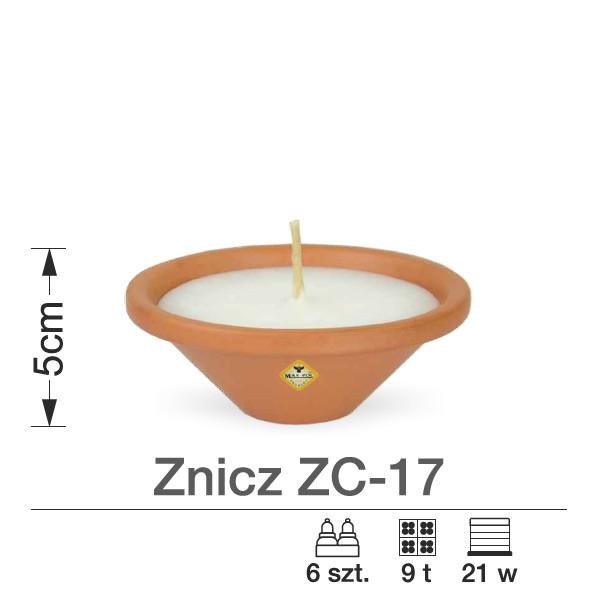 znicz ceramiczny