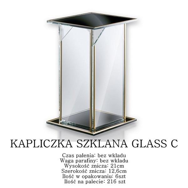 kapliczka szklana na grób