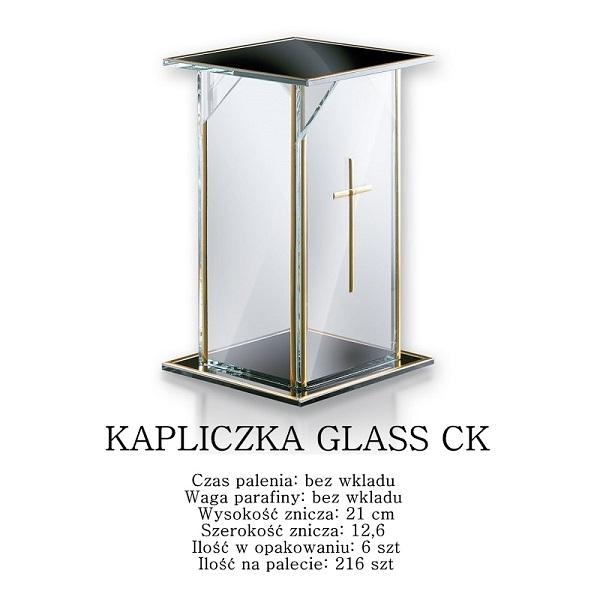kapliczka szklana na cmentarz