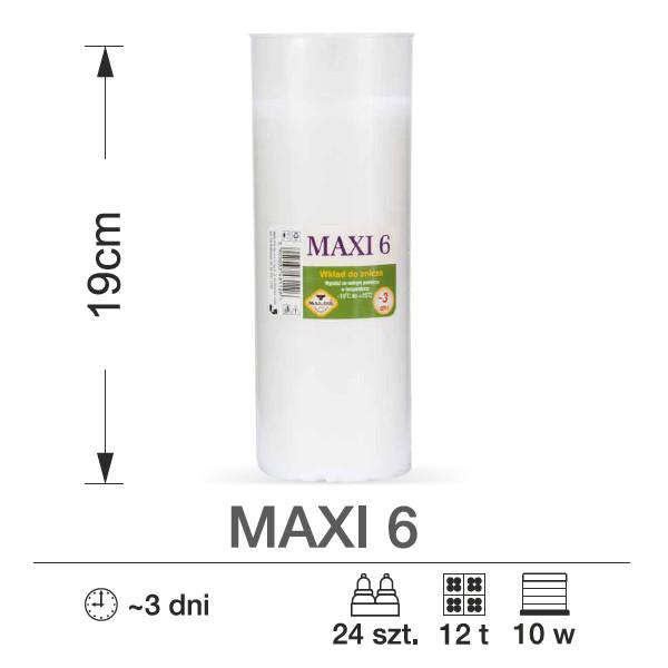 maxpol wkłady do zniczy