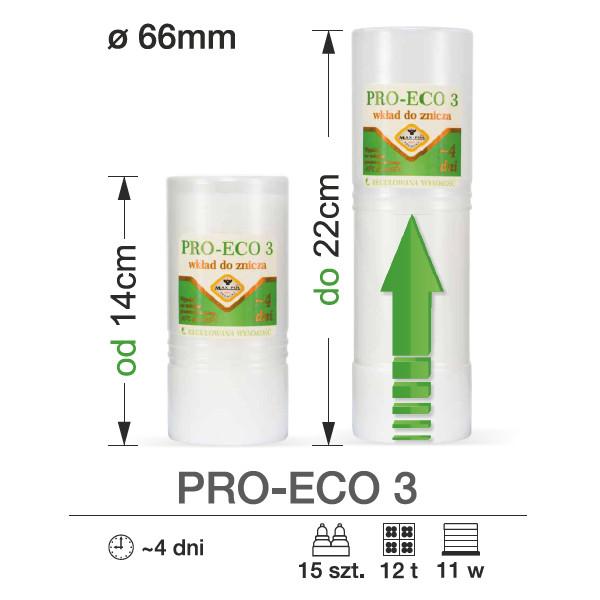 wkład do zniczy pro eco