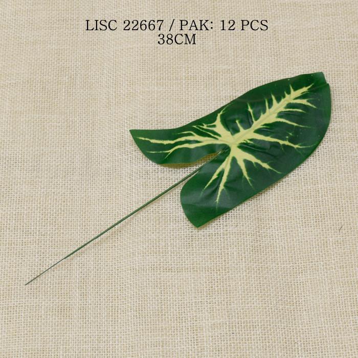 sztuczne liście do bukietów