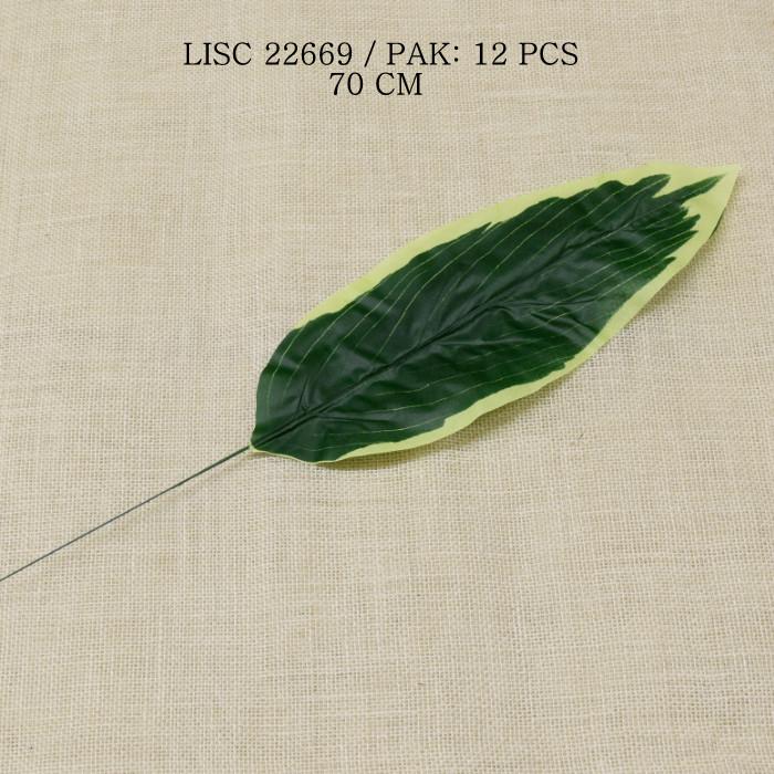 sztuczne liście dekoracyjne