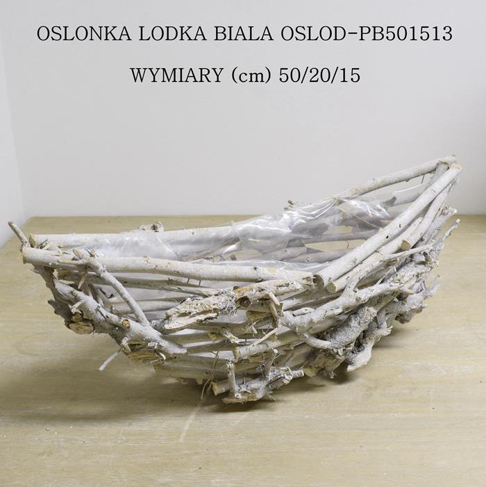 osłonka wiklinowa łódka