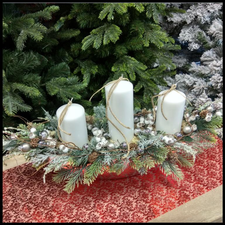kompozycja duża świąteczna