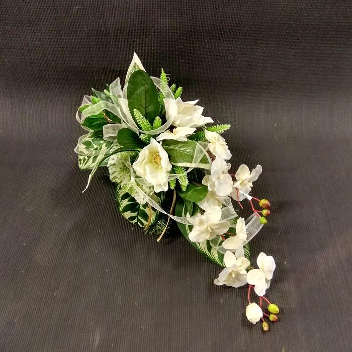 stroik storczyk biały